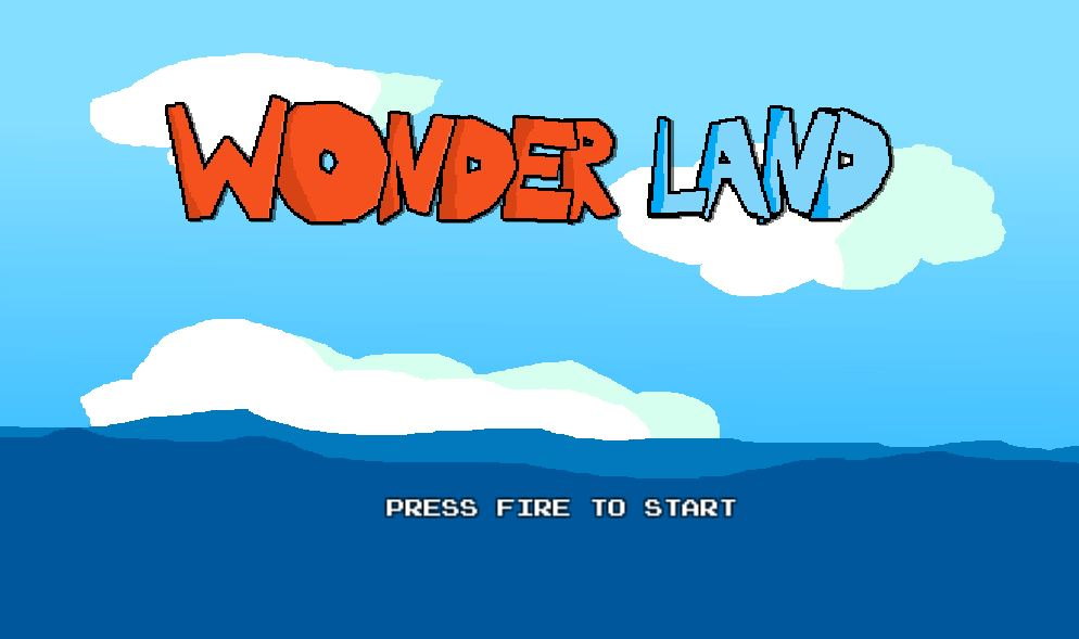 Ludum Dare 40 - Wonder Land