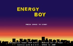 LD39 – Energy Boy